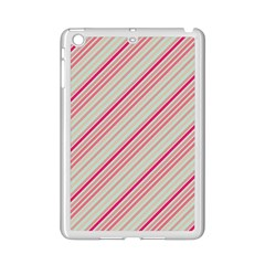 Candy Diagonal Lines Ipad Mini 2 Enamel Coated Cases