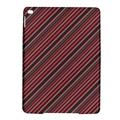 Brownish Diagonal Lines Ipad Air 2 Hardshell Cases