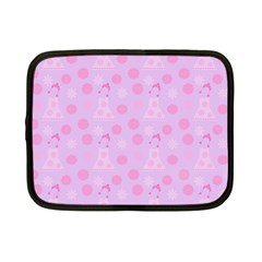 Lilac Dress Netbook Case (small)
