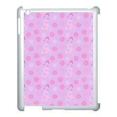 Lilac Dress Apple Ipad 3/4 Case (white)