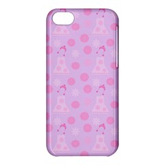 Lilac Dress Apple Iphone 5c Hardshell Case