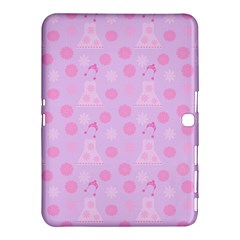 Lilac Dress Samsung Galaxy Tab 4 (10 1 ) Hardshell Case  by snowwhitegirl