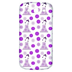 Lilac Dress On White Samsung Galaxy S3 S Iii Classic Hardshell Back Case by snowwhitegirl