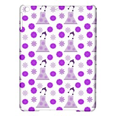 Lilac Dress On White Ipad Air Hardshell Cases by snowwhitegirl