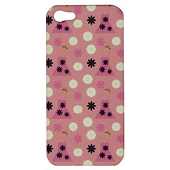 Mauve Dress Apple Iphone 5 Hardshell Case