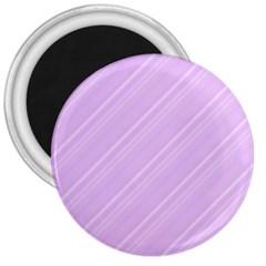Lilac Diagonal Lines 3  Magnets