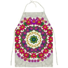 Fauna Fantasy Bohemian Midsummer Flower Style Full Print Aprons
