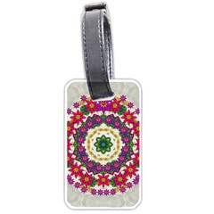 Fauna Fantasy Bohemian Midsummer Flower Style Luggage Tags (two Sides)