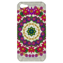 Fauna Fantasy Bohemian Midsummer Flower Style Apple Iphone 5 Hardshell Case