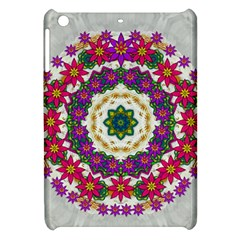Fauna Fantasy Bohemian Midsummer Flower Style Apple Ipad Mini Hardshell Case