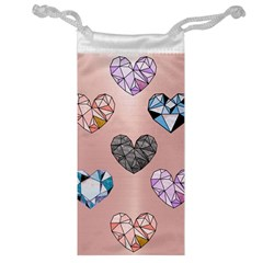 Gem Hearts And Rose Gold Jewelry Bags