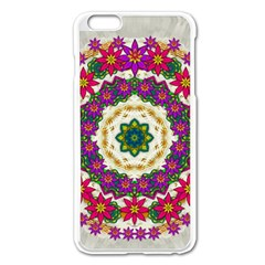 Fauna Fantasy Bohemian Midsummer Flower Style Apple Iphone 6 Plus/6s Plus Enamel White Case