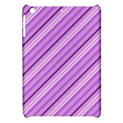 Violet Diagonal Lines Apple Ipad Mini Hardshell Case