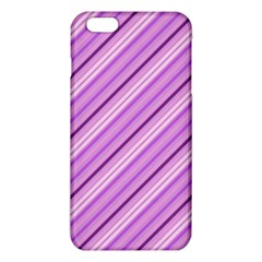 Violet Diagonal Lines Iphone 6 Plus/6s Plus Tpu Case
