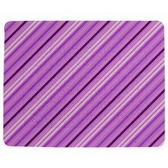 Violet Diagonal Lines Jigsaw Puzzle Photo Stand (rectangular)