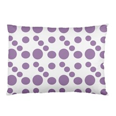 Violet Dots Pillow Case by snowwhitegirl