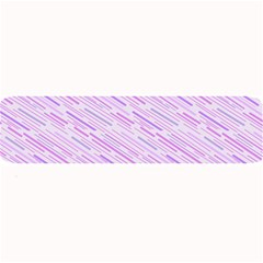 Silly Stripes Lilac Large Bar Mats