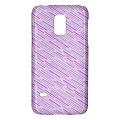 Silly Stripes Lilac Samsung Galaxy S5 Mini Hardshell Case