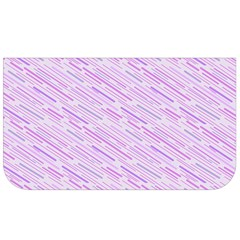 Silly Stripes Lilac Lunch Bag by snowwhitegirl