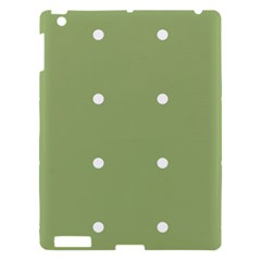 Olive Dots Apple Ipad 3/4 Hardshell Case
