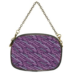 Silly Stripes Chain Purses (one Side)
