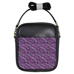 Silly Stripes Girls Sling Bags
