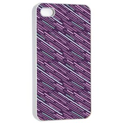 Silly Stripes Apple Iphone 4/4s Seamless Case (white)