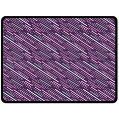Silly Stripes Double Sided Fleece Blanket (large)
