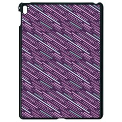 Silly Stripes Apple Ipad Pro 9 7   Black Seamless Case