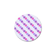 Geometric Squares Golf Ball Marker (10 Pack)