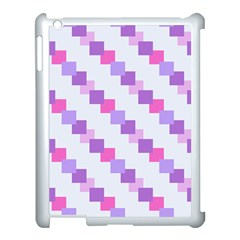 Geometric Squares Apple Ipad 3/4 Case (white)
