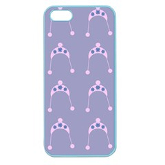 Pink Hat Apple Seamless Iphone 5 Case (color)