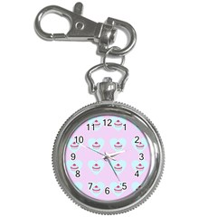 Pink Cupcake Key Chain Watches