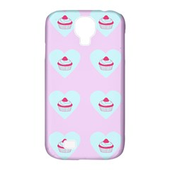 Pink Cupcake Samsung Galaxy S4 Classic Hardshell Case (pc+silicone)