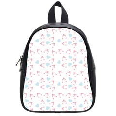 Pink Hats School Bag (small) by snowwhitegirl