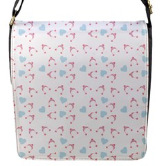 Pink Hats Flap Messenger Bag (s) by snowwhitegirl