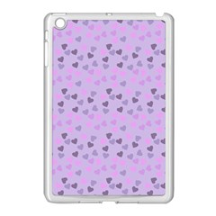 Heart Drops Violet Apple Ipad Mini Case (white)