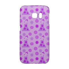 Purple Dress Samsung Galaxy S6 Edge Hardshell Case