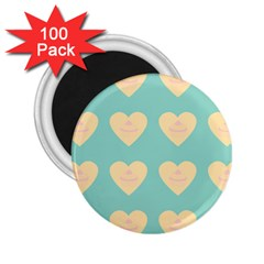 Teal Cupcakes 2 25  Magnets (100 Pack)