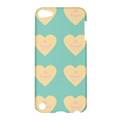 Teal Cupcakes Apple Ipod Touch 5 Hardshell Case