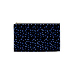 Blue Hearts Cosmetic Bag (small)