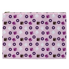 Pink Donuts Cosmetic Bag (xxl)