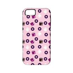 Pink Donuts Apple Iphone 5 Classic Hardshell Case (pc+silicone)