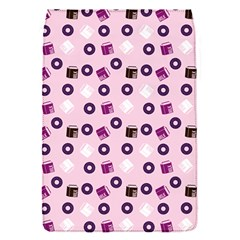 Pink Donuts Flap Covers (s)