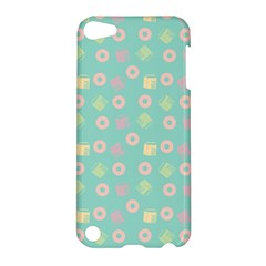 Teal Donuts And Milk Apple Ipod Touch 5 Hardshell Case