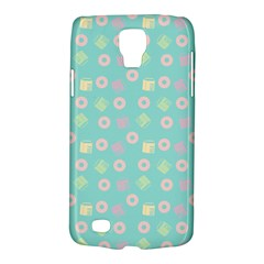 Teal Donuts And Milk Samsung Galaxy S4 Active (i9295) Hardshell Case