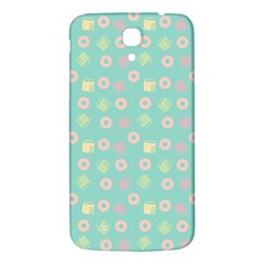 Teal Donuts And Milk Samsung Galaxy Mega I9200 Hardshell Back Case