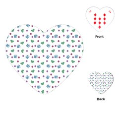 White Milk Hearts Playing Cards (heart)