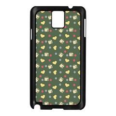 Green Milk Hearts Samsung Galaxy Note 3 N9005 Case (black)
