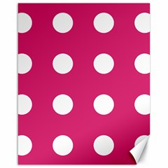 Pink Dot Canvas 16  X 20